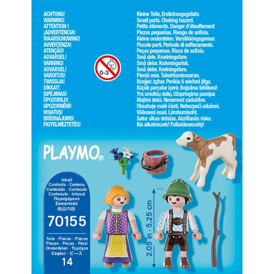 Children with Calf - Playmobil