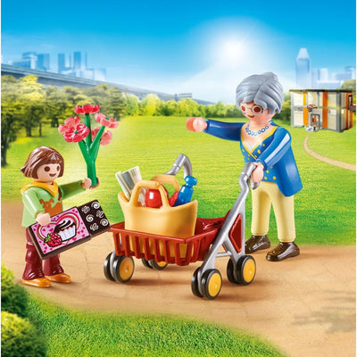 Grandmother with Child - Playmobil