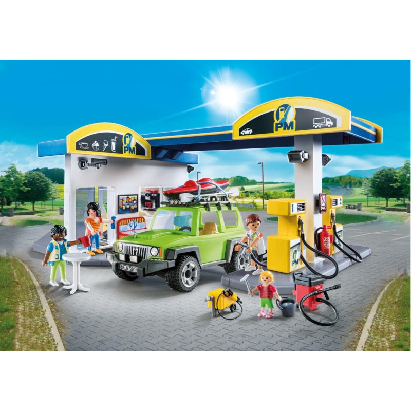 Gas Station - Playmobil