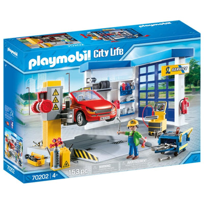 Car Repair Garage - Playmobil