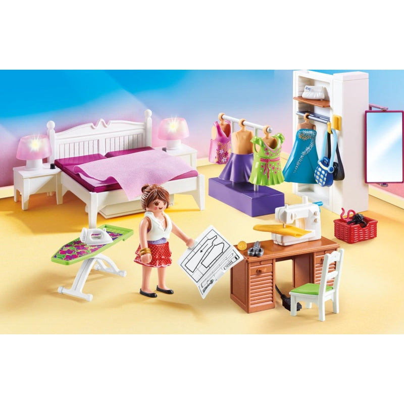 Bedroom with Sewing Corner - Playmobil