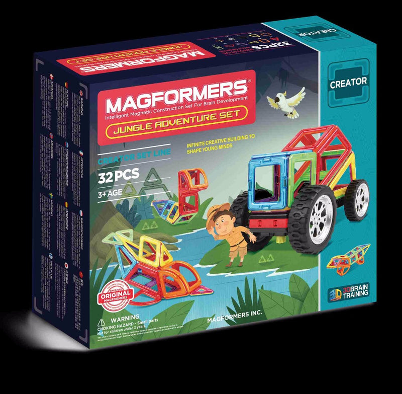 Jungle Adventure Set 32pcs - Magformers