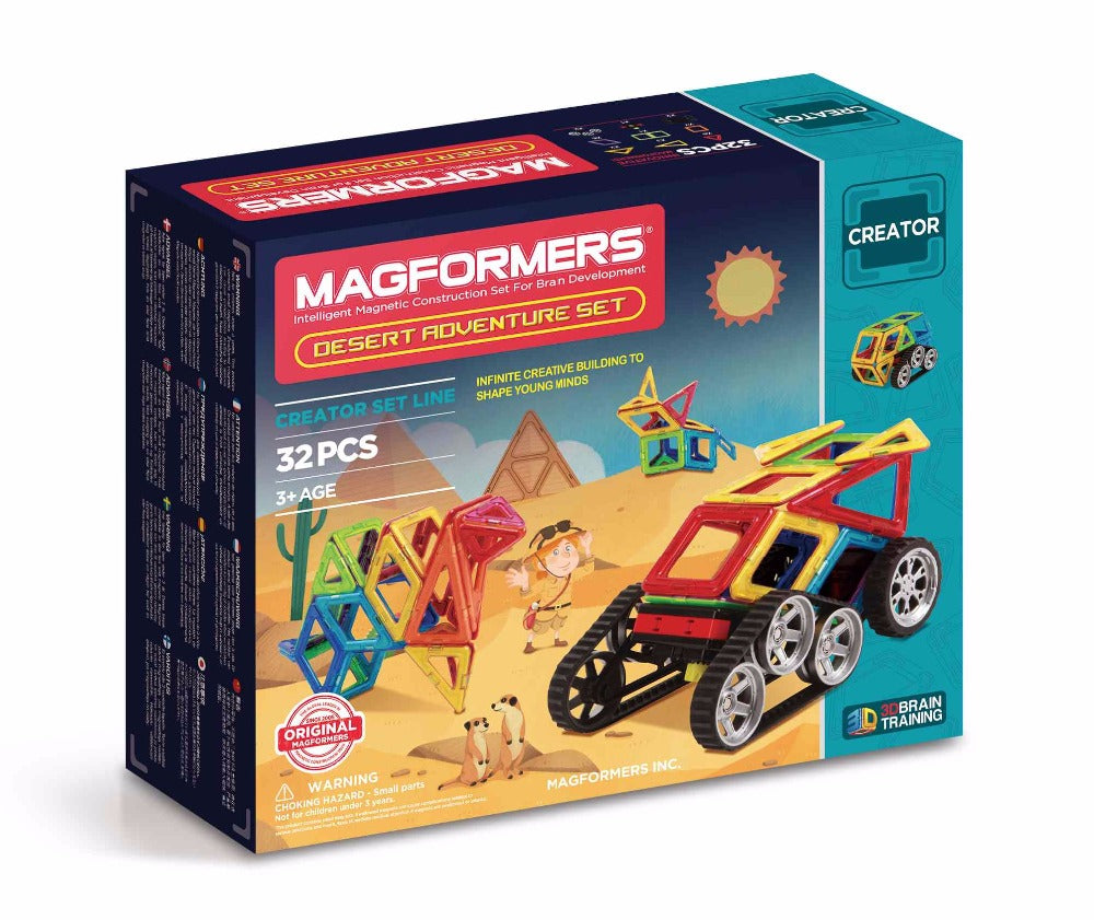 Desert Adventure Set 32pcs - Magformers