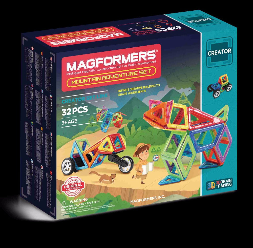 Mountain Adventure Set 32pcs - Magformers