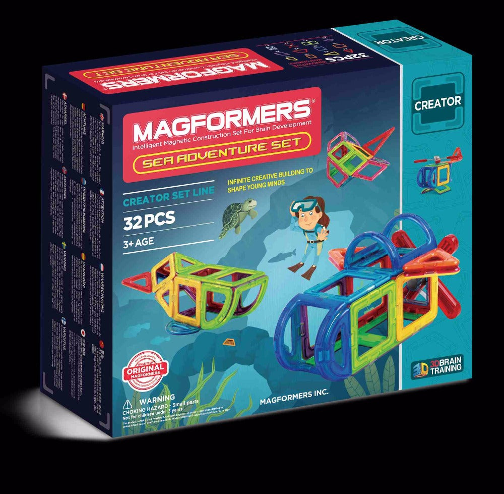 Sea Adventure Set 32pcs - Magformers