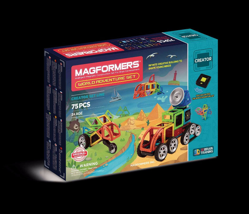World Adventure Set 75pcs - Magformers