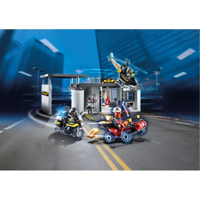 Take Along Tactical Unit Headquarters - Playmobil