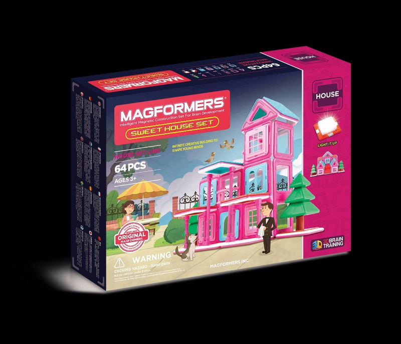 Sweet House Set 64pcs - Magformers
