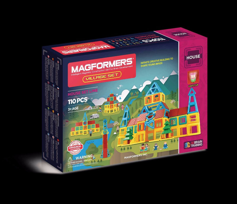 Village Set 110pcs - Magformers