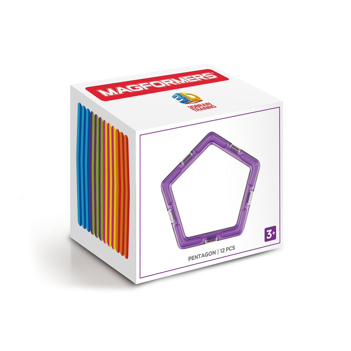 Basic Pentagons Set 12pcs - Magformers