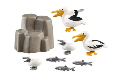 Pelican Family - Playmobil Components