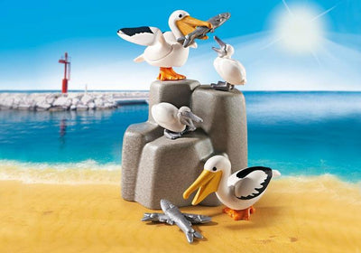 Pelican Family - Playmobil Play