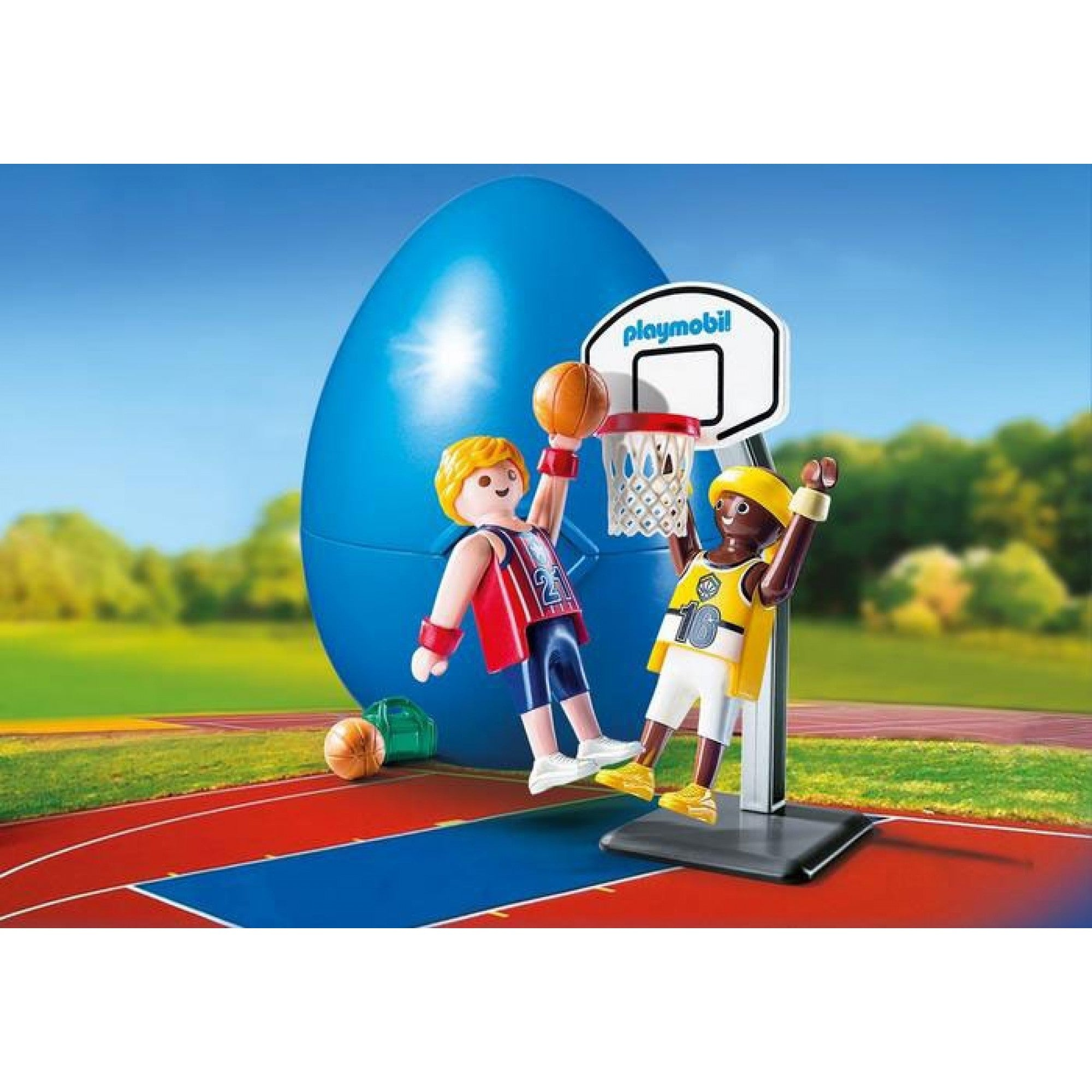 One-on-One Basketball - Playmobil