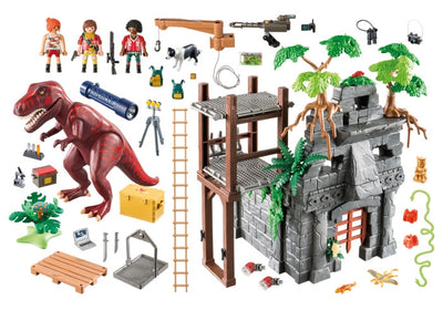 Hidden Temple with T-Rex - Playmobil Components