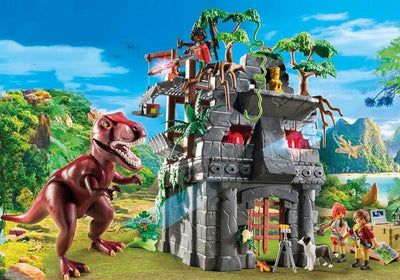 Hidden Temple with T-Rex - Playmobil Play