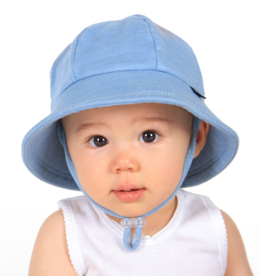 Chambray Baby Bucket Hat - Bedhead Hats