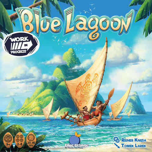 Blue Lagoon Game - Blue Orange