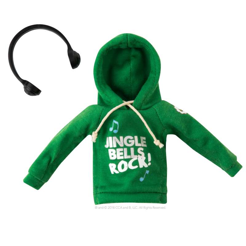 Jingle Jam Hoodie Claus Couture - Elf on the Shelf`