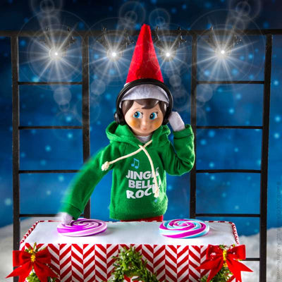 Jingle Jam Hoodie Claus Couture - Elf on the Shelf`scene