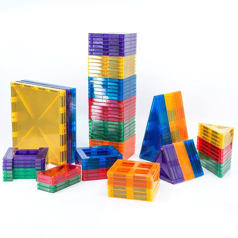 Creative Pack 100pc Magnetic Tiles - Connetix