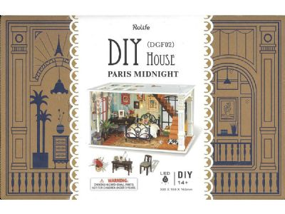 Paris Midnight DIY Mini House - Robotime
