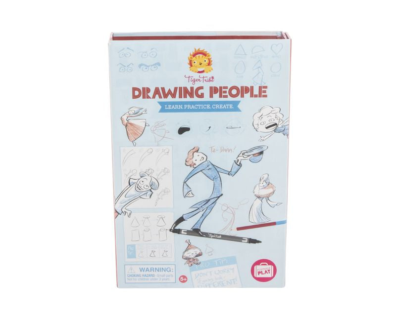 Drawing People - Tiger Tribe