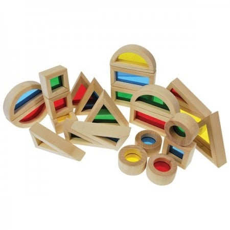 Rainbow Blocks Set 24pc