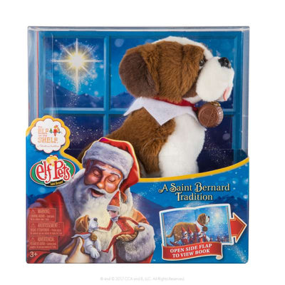 Elf Pets St Bernard - Elf on the Shelf box