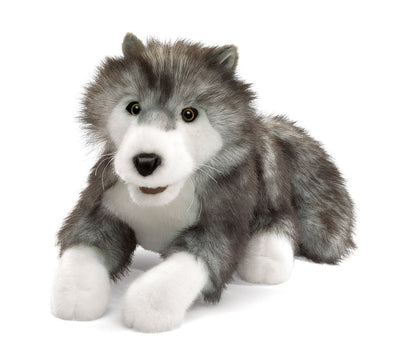 Timber Wolf Hand Puppet - Folkmanis