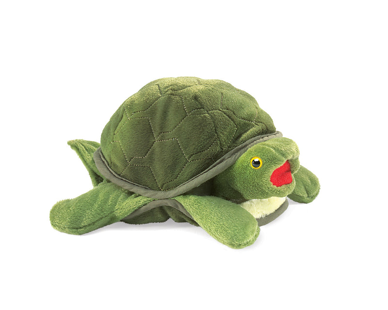 Baby Turtle Hand Puppet - Folkmanis