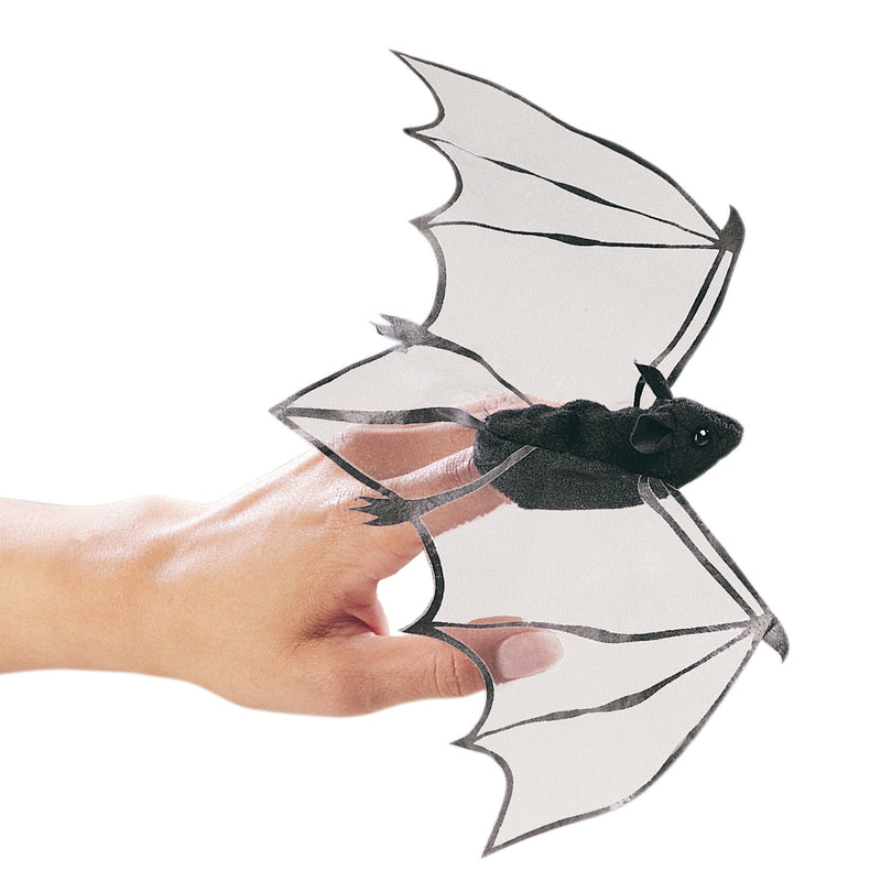 Mini Bat Finger Puppet - Folkmanis