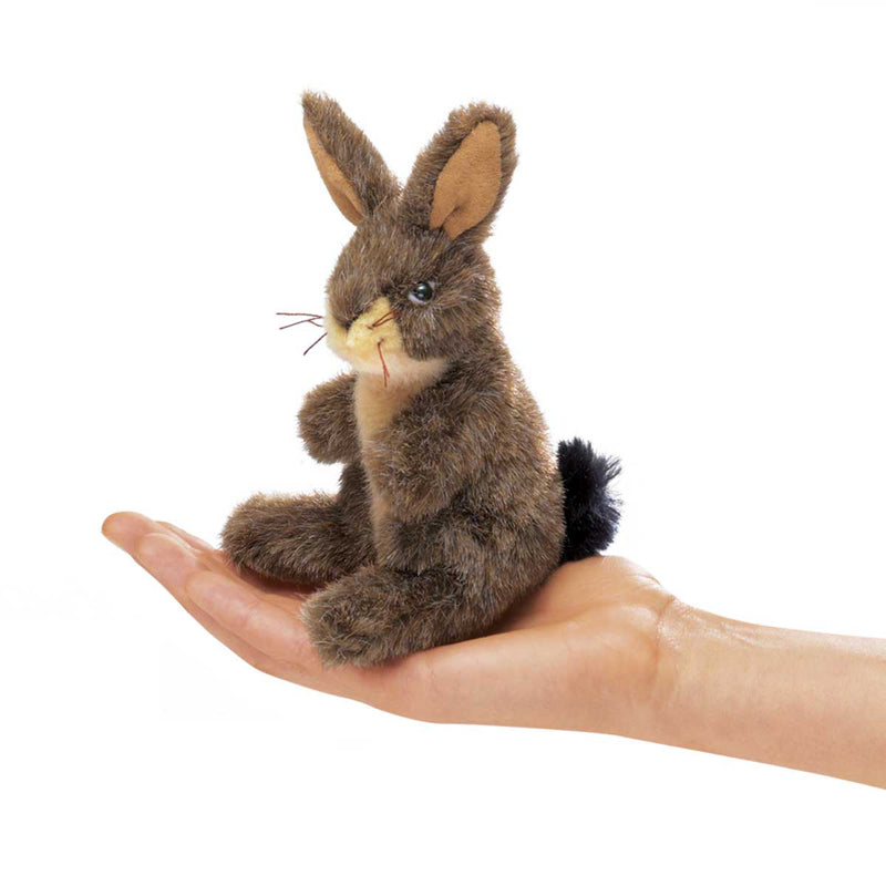 Mini Jack Rabbit Finger Puppet - Folkmanis
