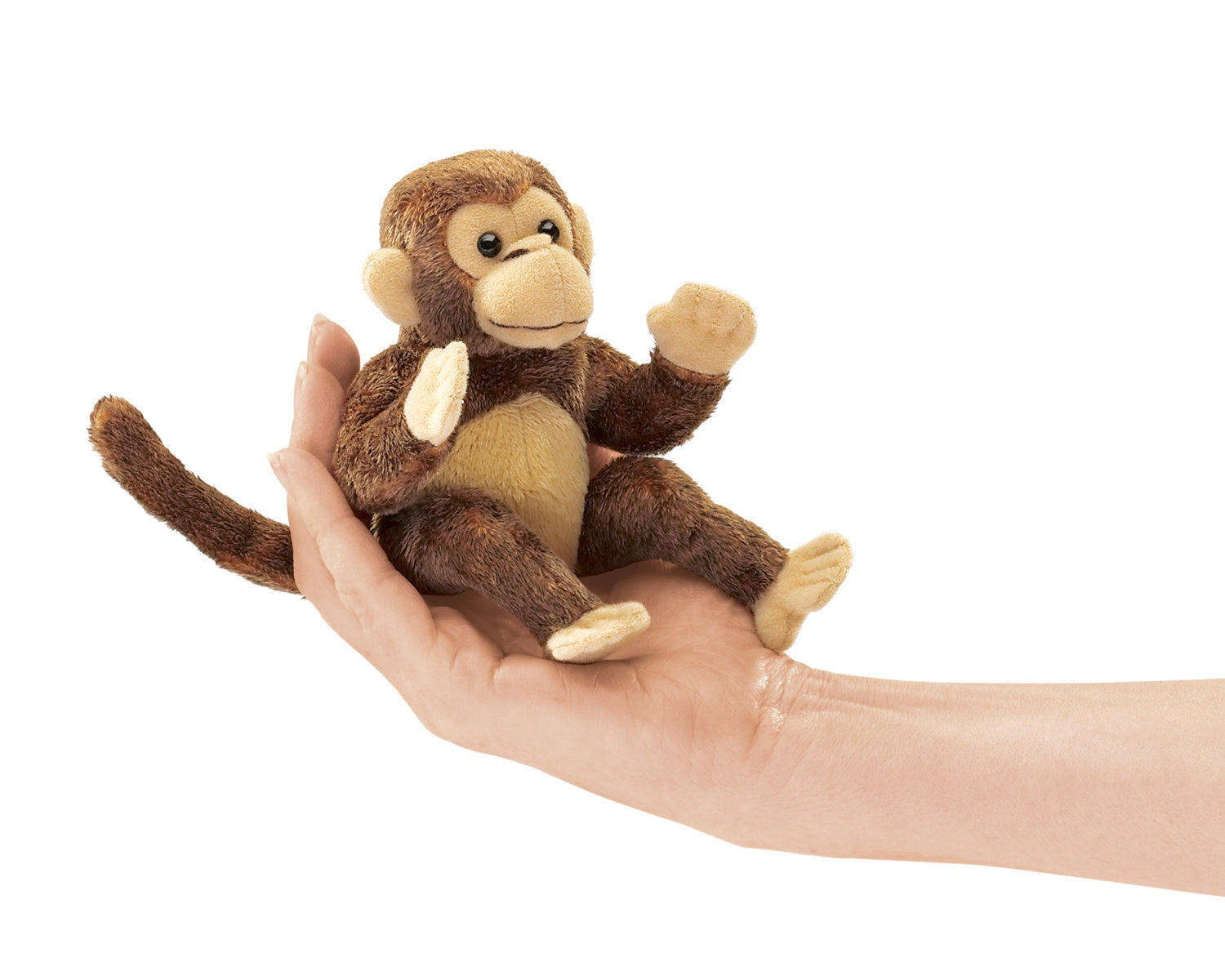 Mini Monkey Finger Puppet - Folkmanis