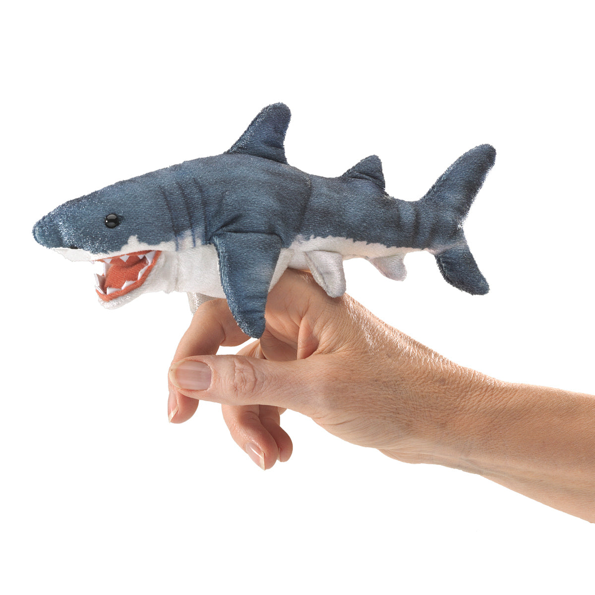 Mini Shark Finger Puppet - Folkmanis