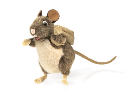 Pack Rat Hand Puppet - Folkmanis