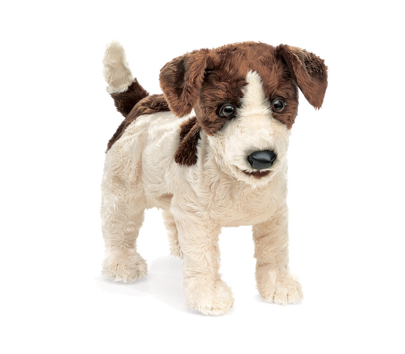 Jack Russell Terrier Hand Puppet - Folkmanis