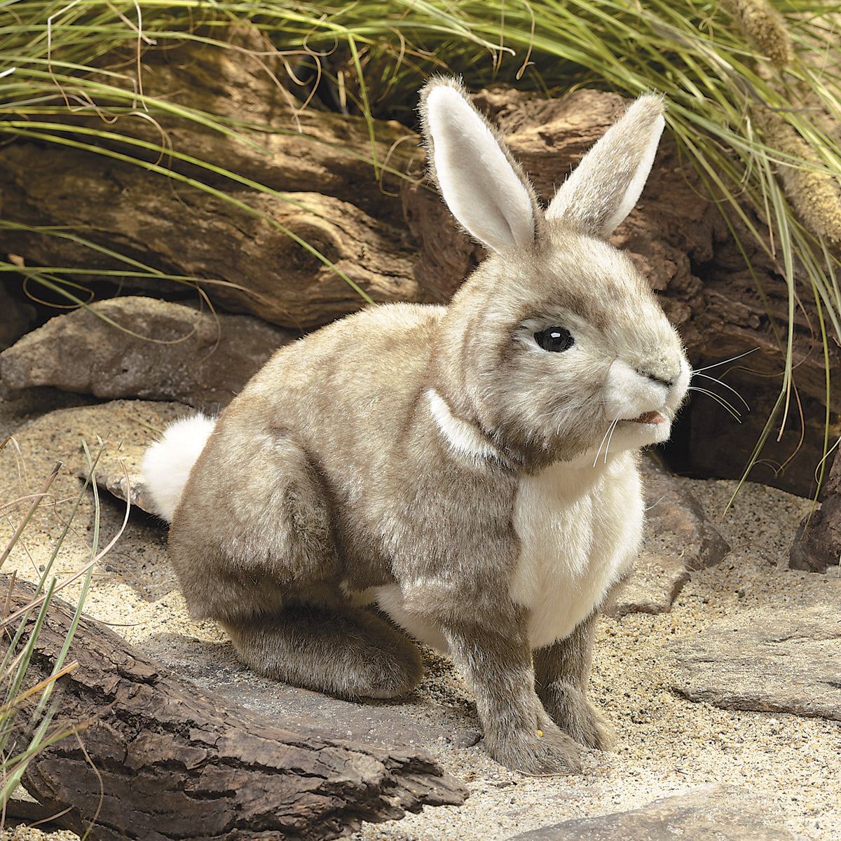 Cottontail Rabbit Hand Puppet - Folkmanis