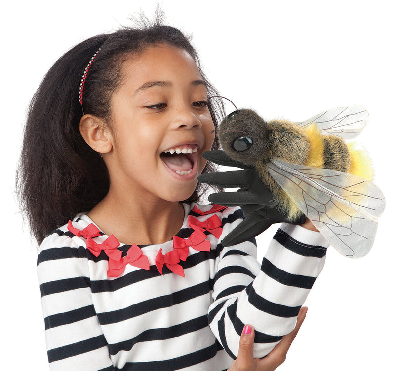 Honey Bee Hand Puppet - Folkmanis