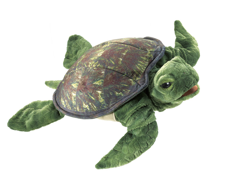 Sea Turtle Hand Puppet - Folkmanis