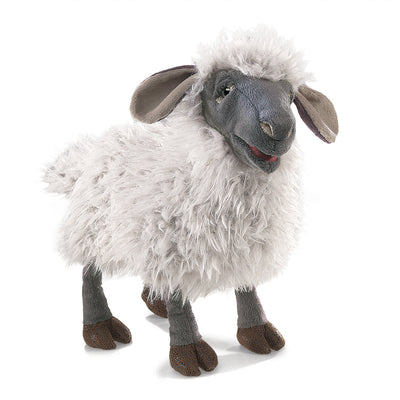 Bleating Sheep Hand Puppet - Folkmanis