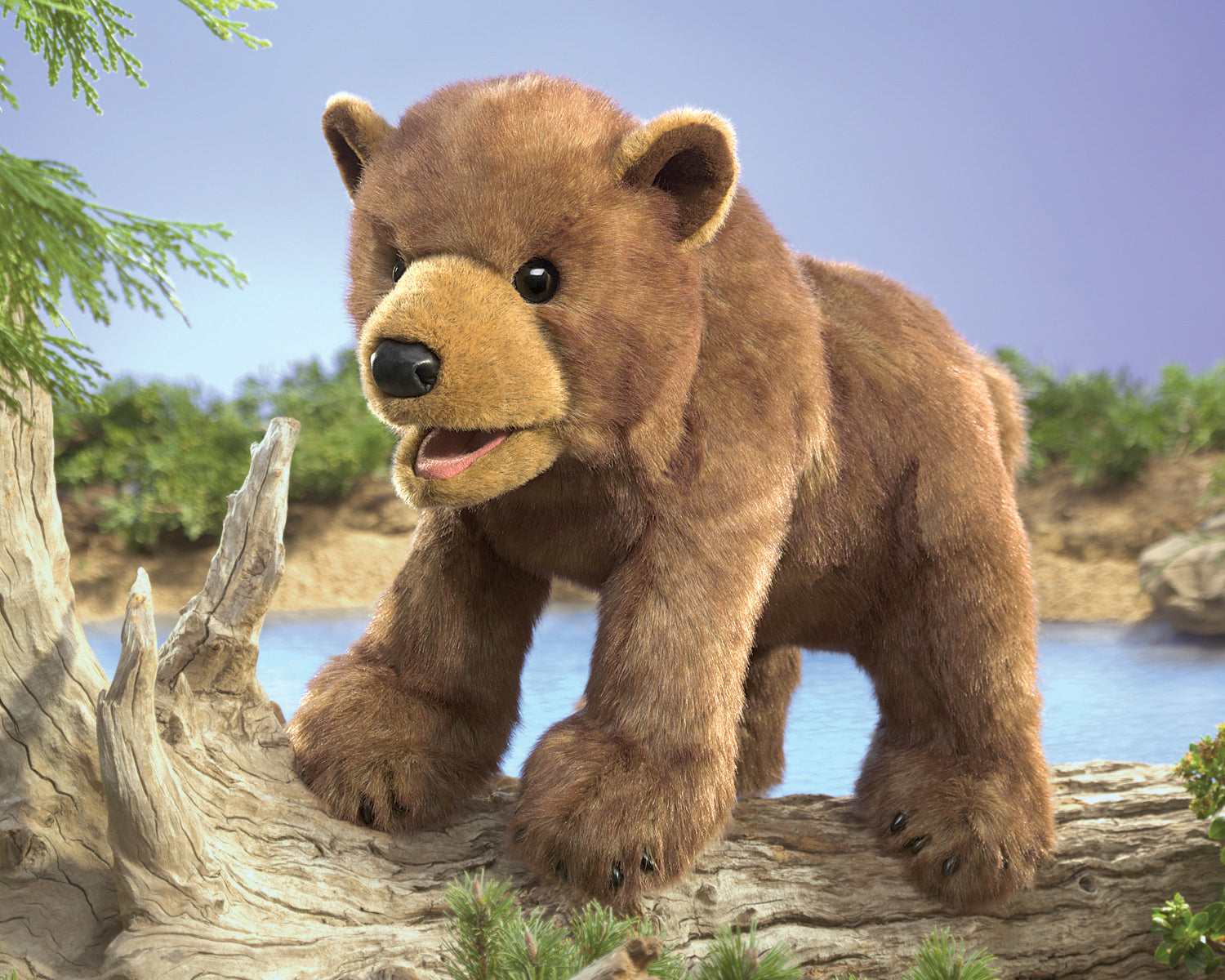 Brown Bear Cub Hand Puppet - Folkmanis