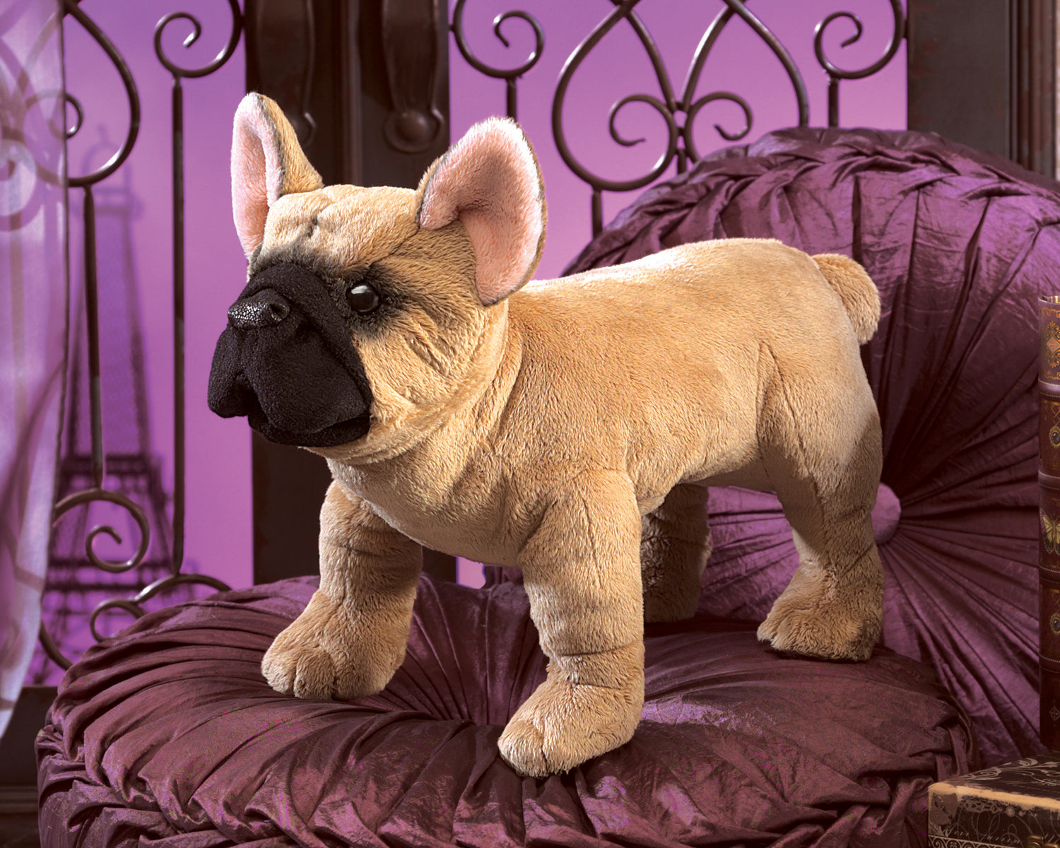 French Bulldog Hand Puppet - Folkmanis