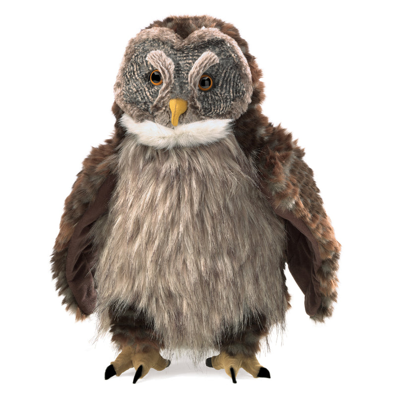 Hooting Owl Puppet - Folkmanis