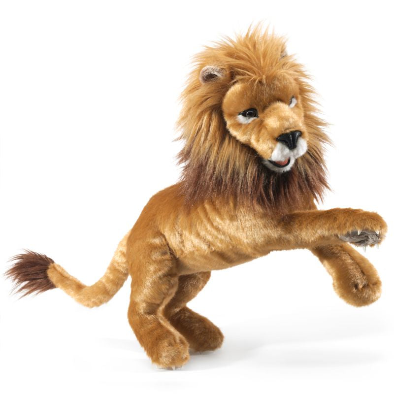 Lion Hand Puppet - Folkmanis