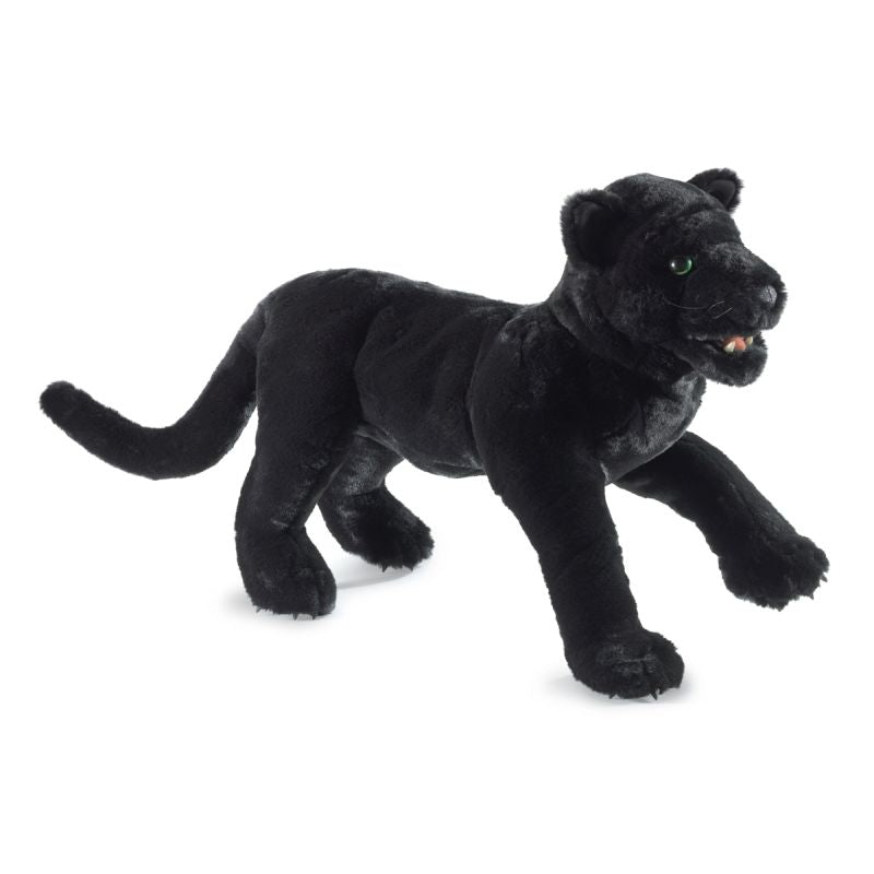 Black Panther Hand Puppet - Folkmanis