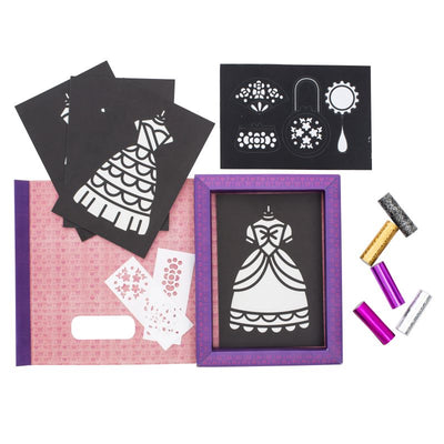 Princess Gowns Foil Art - Tiger Tribe