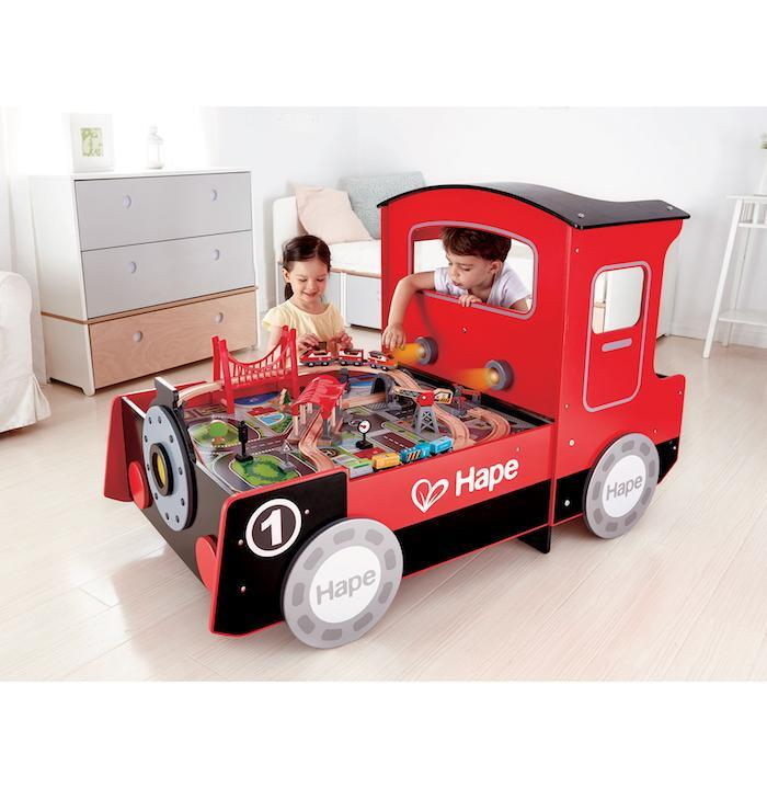 Train Engine Play Table - Hape