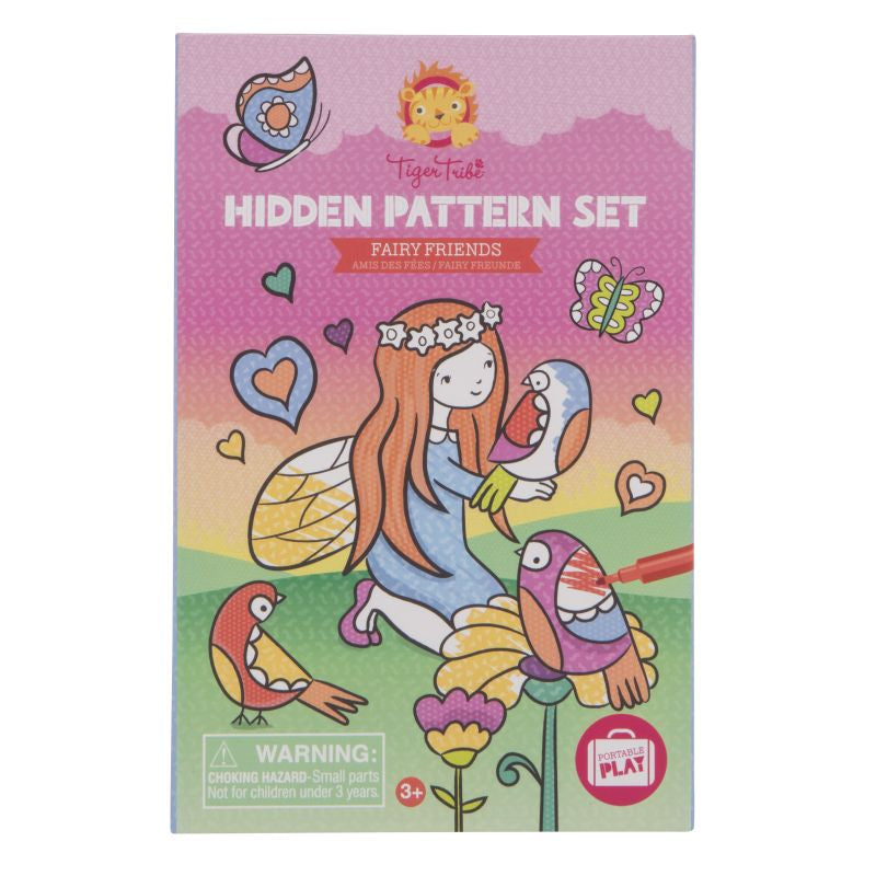 Hidden Pattern Fairy Friends - Tiger Tribe