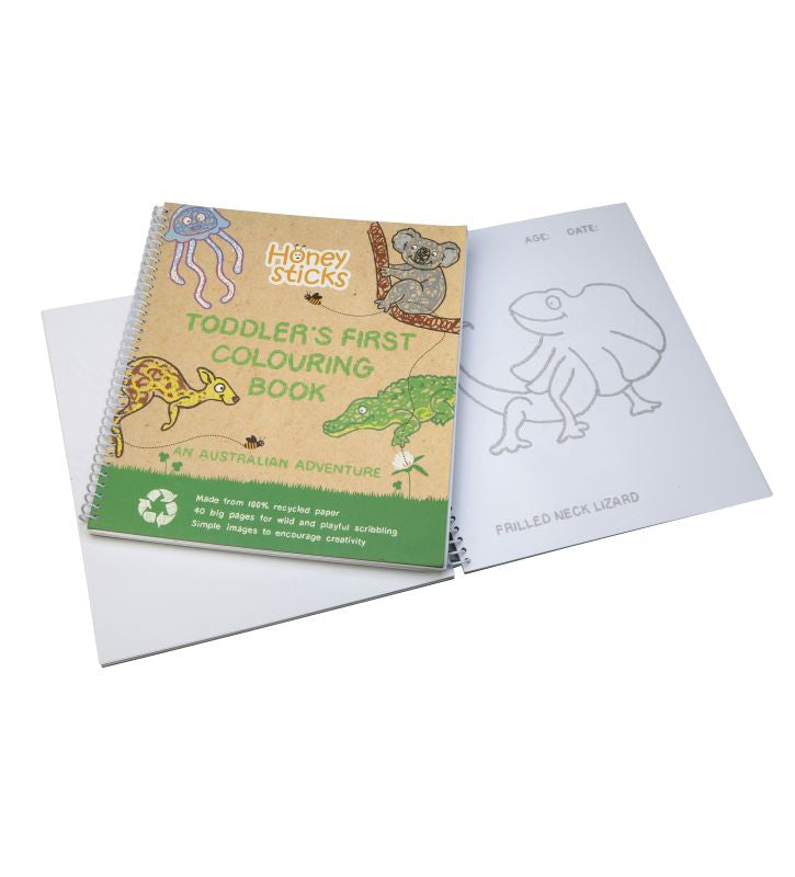 Australian Adventure Colouring Book - Honeysticks