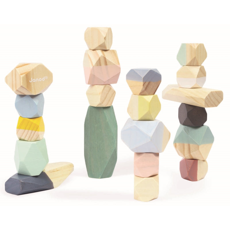 Cocoon Stacking Stones - Janod